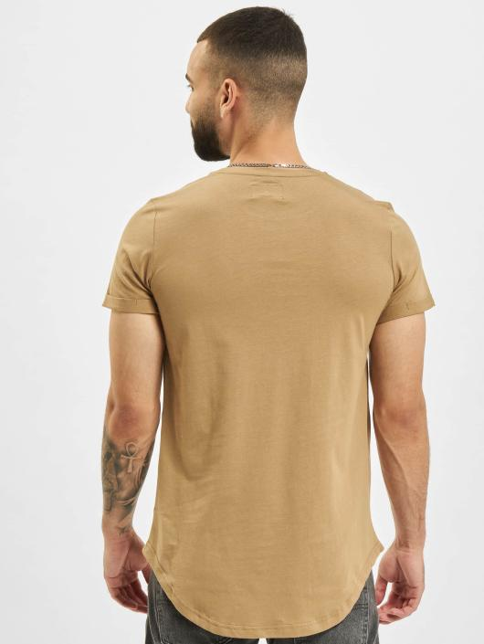 Sixth June T-Shirt Rounded Bottom beige