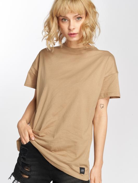 Sixth June T-Shirt Classic Oversize beige
