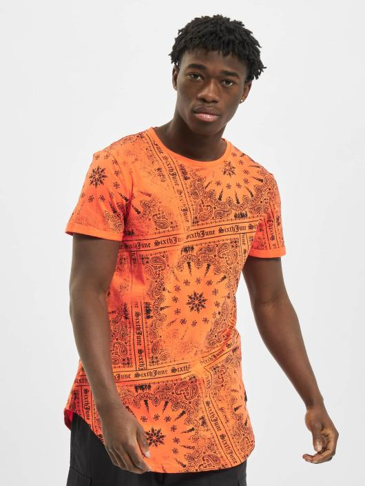 Sixth June T-Shirt Myron orange