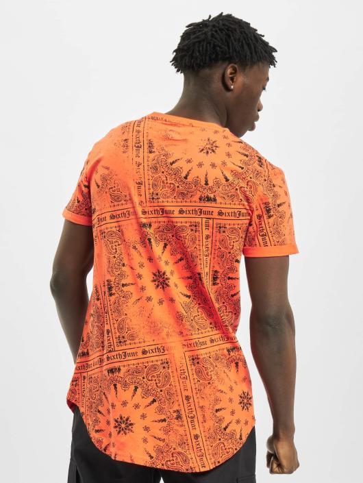 Sixth June T-Shirt Myron orange