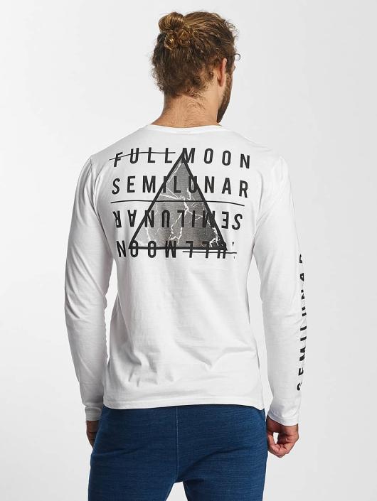 Sublevel Longsleeve Fullmoon Semilunar white