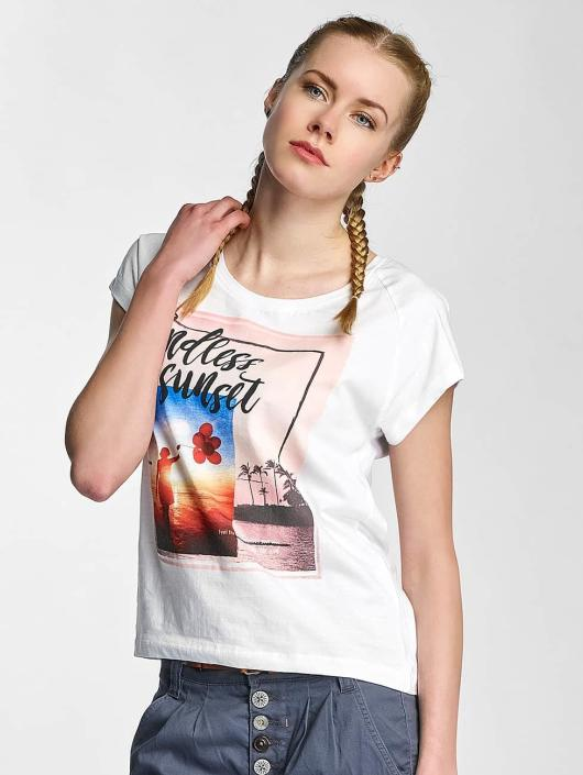 Sublevel T-Shirt Endless Sunset white