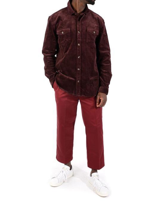 Suit Shirt Jason-Q6030 red