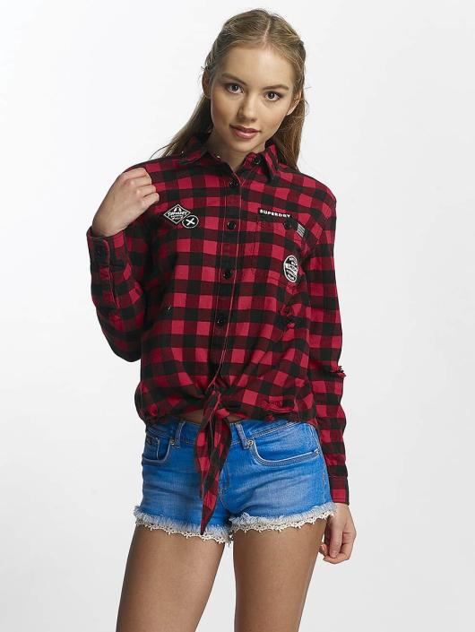 Superdry Blouse/Tunic Zephyr Check black