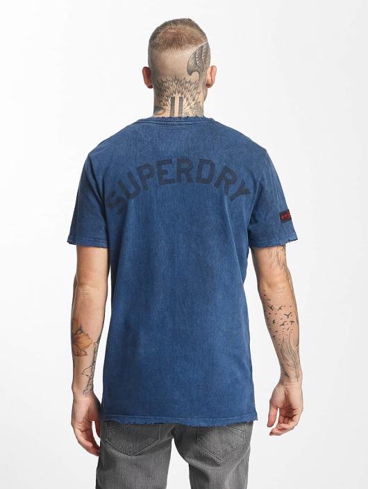 Superdry T-Shirt World Tour blue