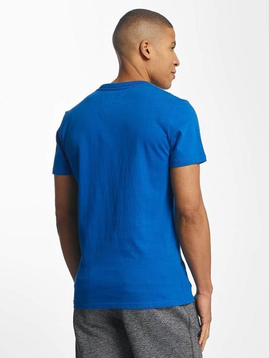 Superdry T-Shirt Osaka Hibiscus Infill blue
