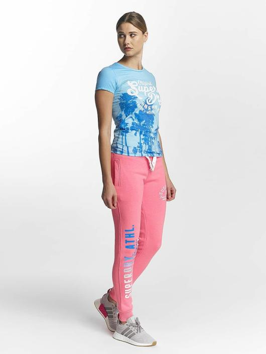 Superdry T-Shirt Photographic Entry blue