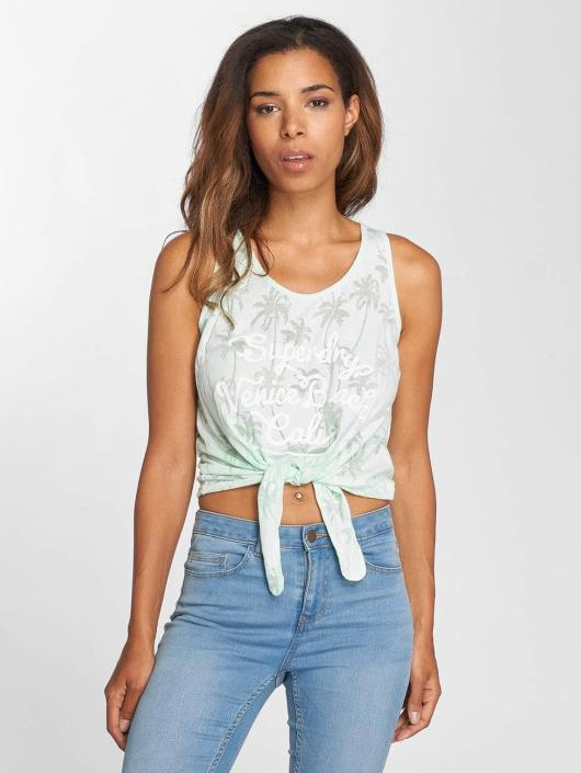 Superdry Top Surf Beach Top Morning green