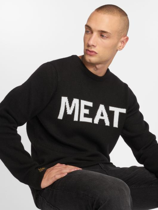 The Dudes Pullover Meat Knitted black