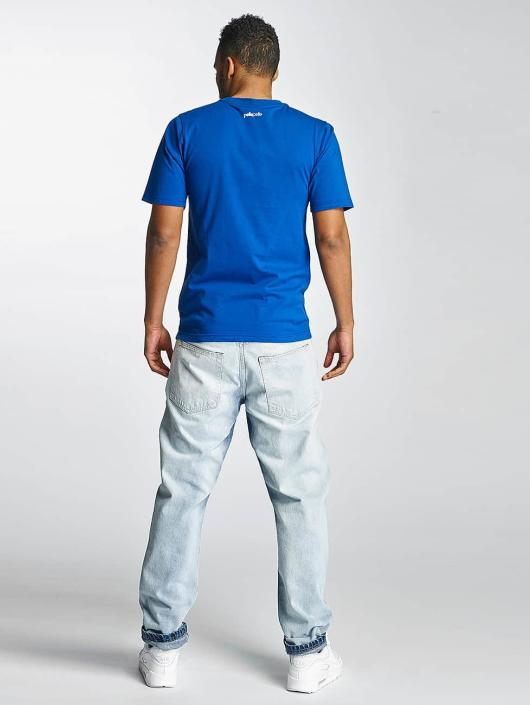Thug Life Carrot Fit Jeans Washed blue