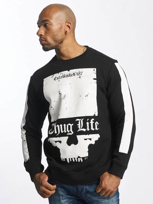 Thug Life Pullover Blind black