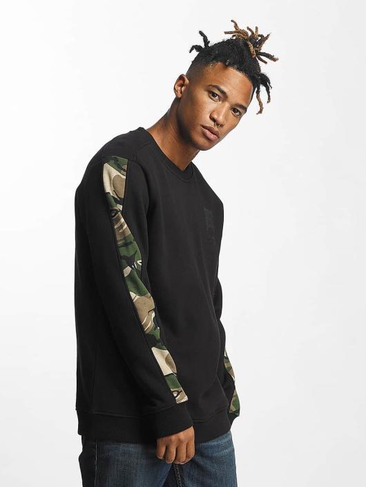 Thug Life Pullover Simple black