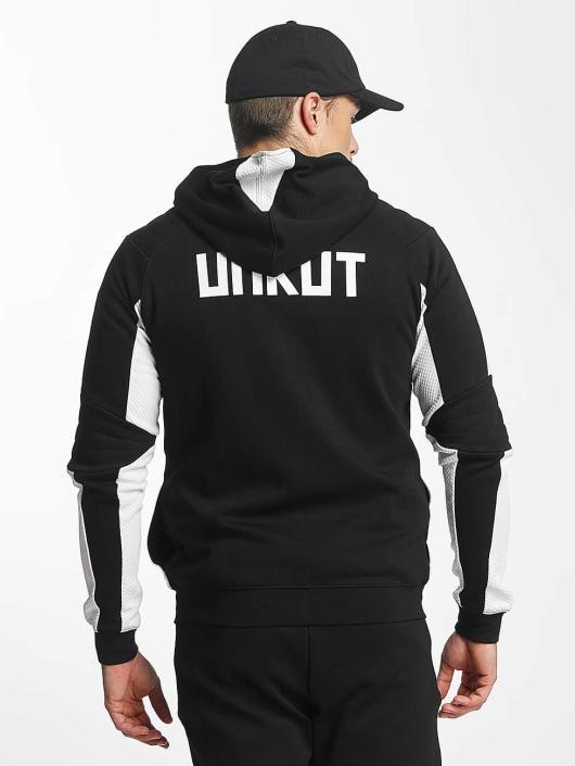 Unkut Zip Hoodie Break black