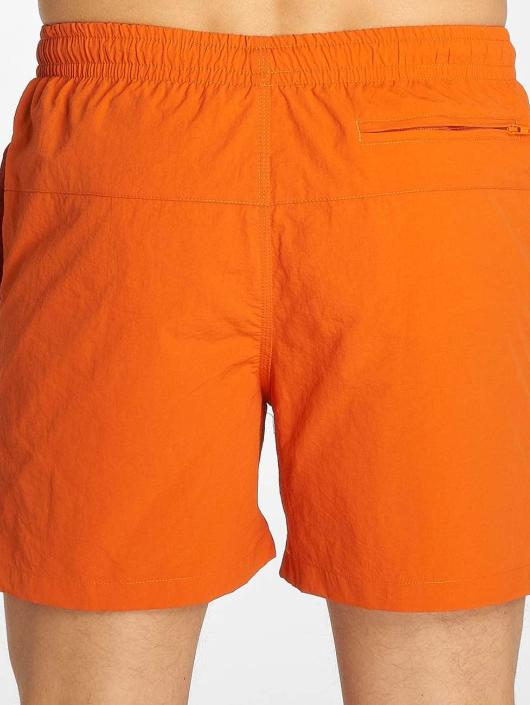Urban Classics Badeshorts Block orange