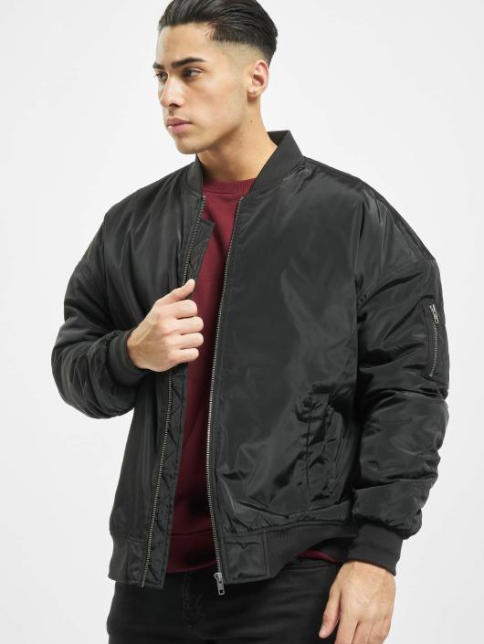 Urban Classics Bomber jacket Oversized black