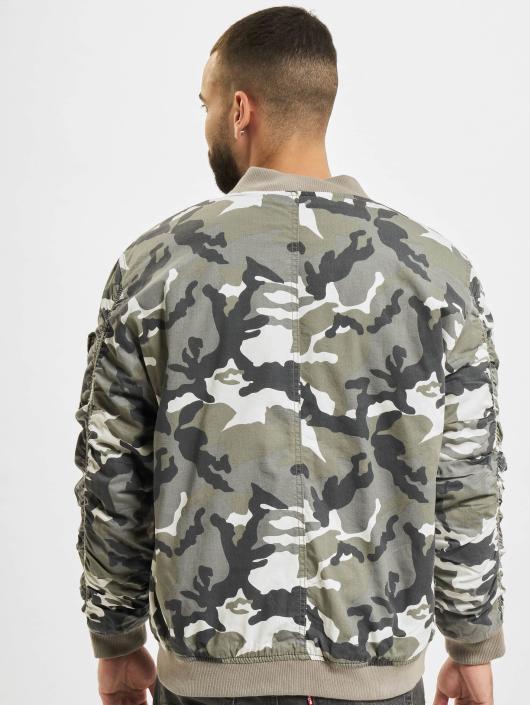 Urban Classics Bomber jacket Vintage Camo camouflage