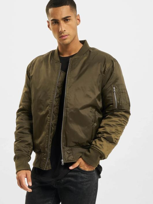 Urban Classics Bomber jacket Basic green