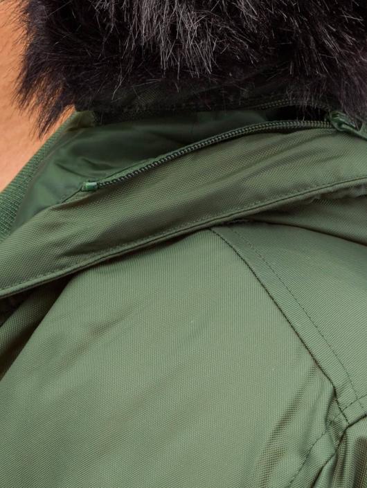 Urban Classics Bomber jacket Hooded Basic olive