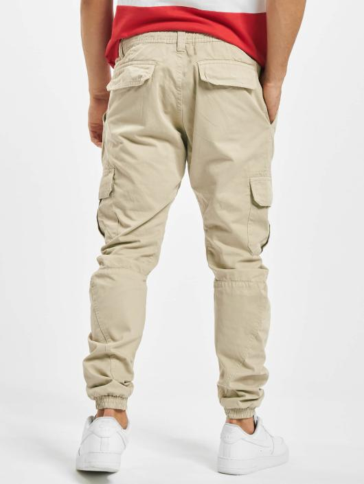 Urban Classics Cargo pants Cargo Jogging beige