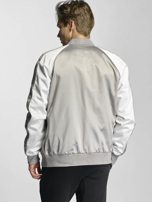 Urban Classics College Jacket Souvenier silver