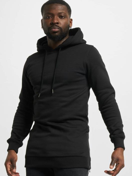 Urban Classics Hoodie Long Side black