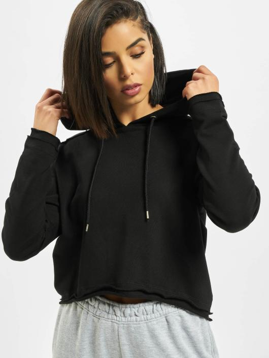 Urban Classics Hoodie Cropped Terry black