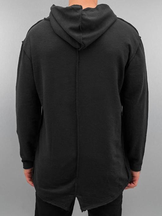 Urban Classics Hoodie Long Slub Terry Open Edge black