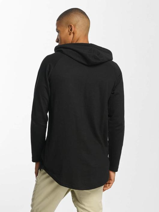 Urban Classics Hoodie Long Shaped Terry black