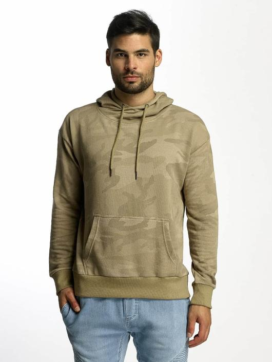 Urban Classics Hoodie High Neck Camo camouflage
