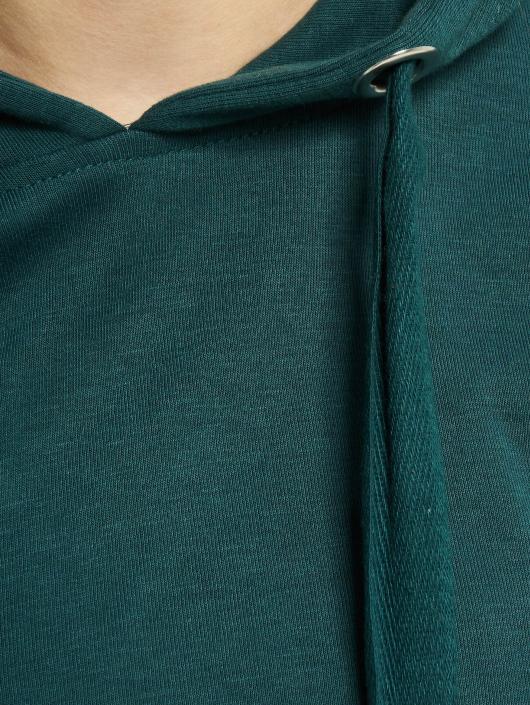 Urban Classics Hoodie Interlock Short green