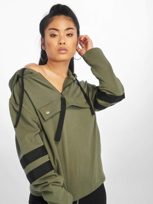 Urban Classics Hoodie Peached olive