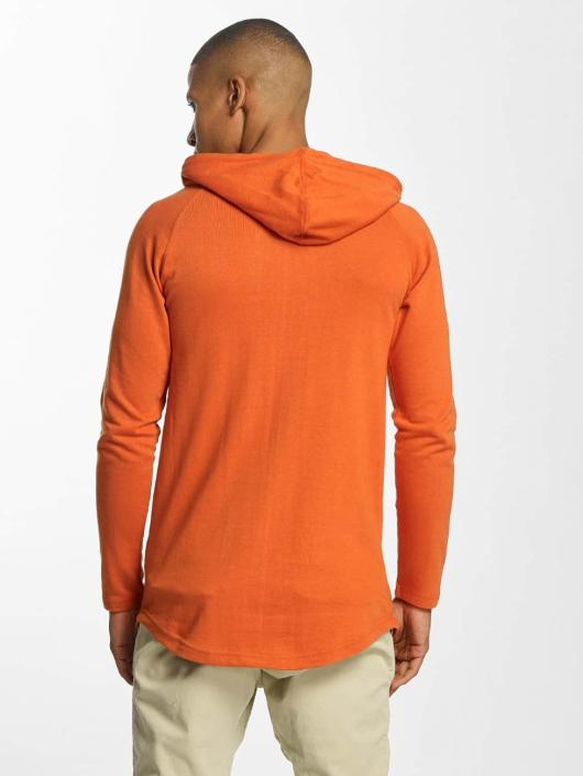 Urban Classics Hoodie Long Shaped Terry orange