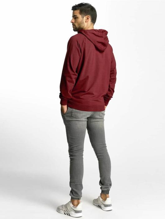 Urban Classics Hoodie Garment red