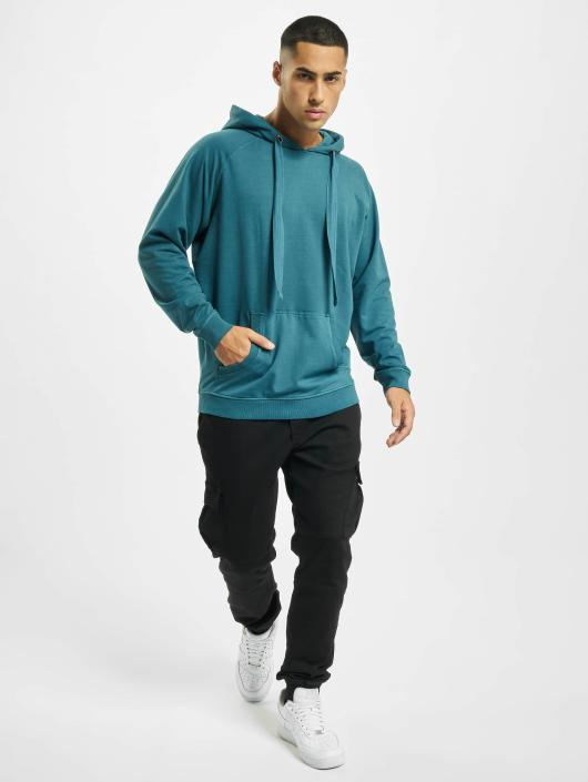 Urban Classics Hoodie Garment Washed Terry turquoise