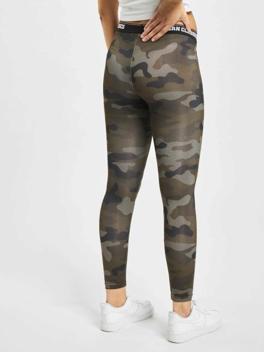 Urban Classics Leggings/Treggings Camo Logo camouflage