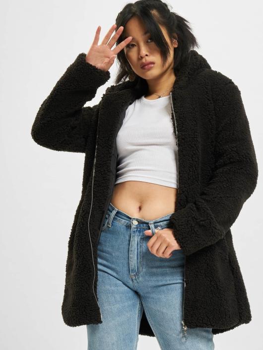 Urban Classics Lightweight Jacket Sherpa black