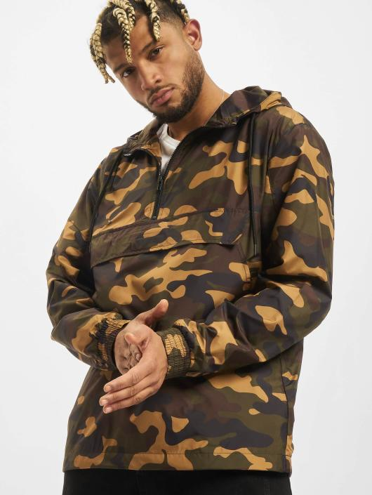 Urban Classics Lightweight Jacket Camo Pull Over camouflage