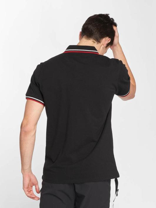Urban Classics Poloshirt Double Stripe black