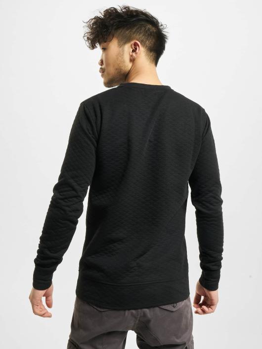 Urban Classics Pullover Diamond Quilt black