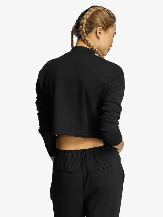 Urban Classics Pullover Lace Up black