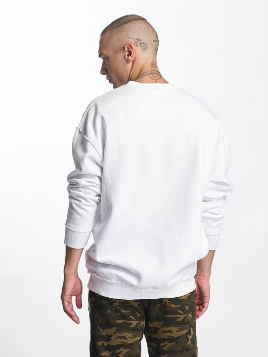 Urban Classics Pullover Oversized Open Edge white