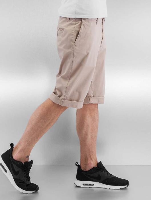 Urban Classics Short Stretch Turnup beige