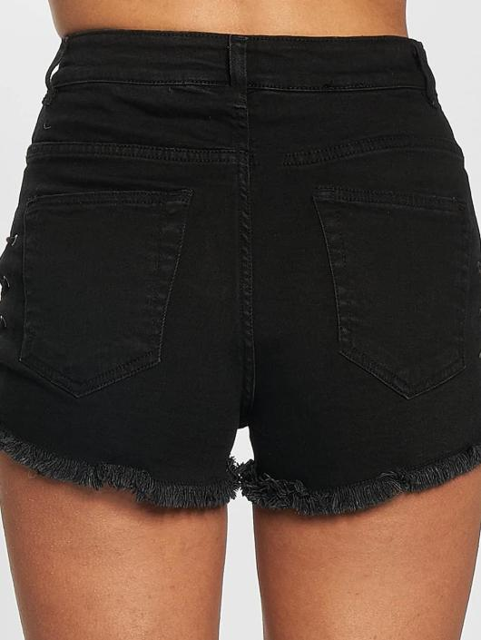 Urban Classics Short Lace Up Highwaist black