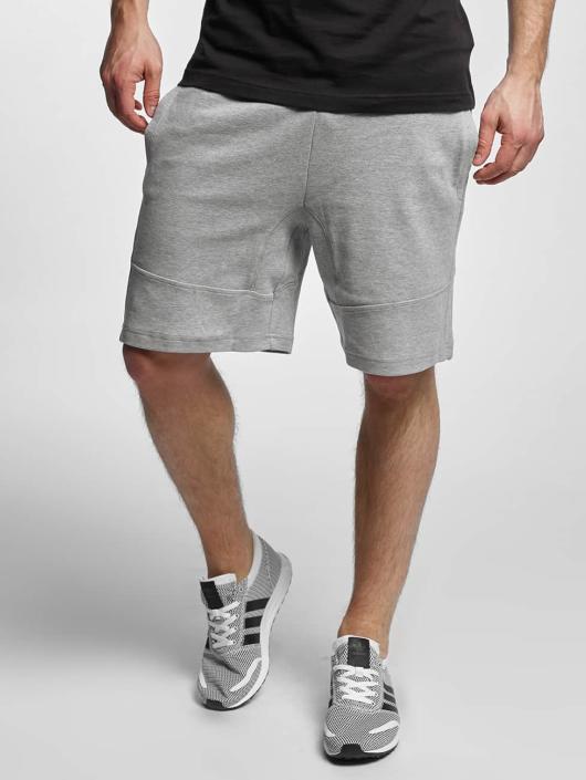 Urban Classics Short Interlock gray