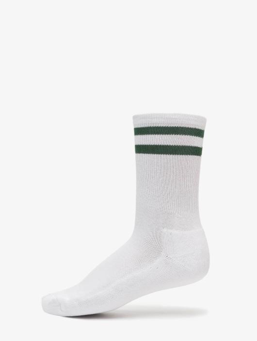 Urban Classics Socks 2-Pack Stripe white