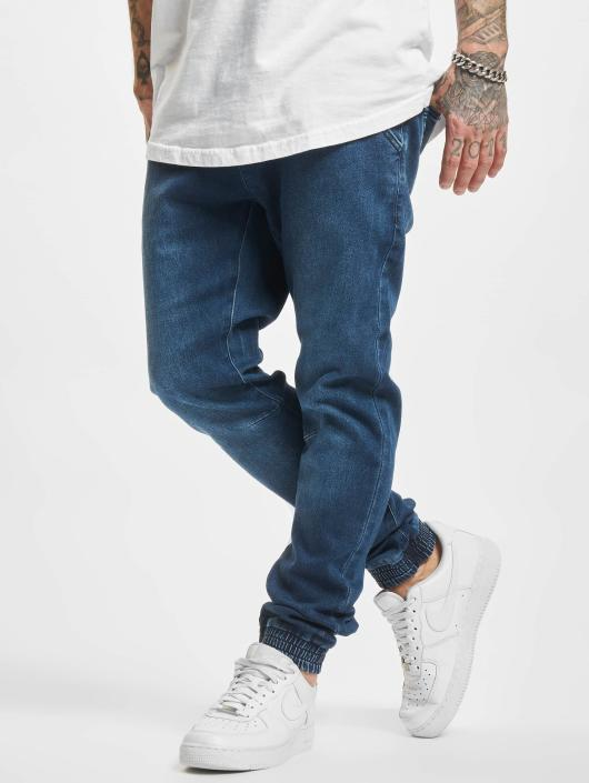 Urban Classics Sweat Pant Knitted Denim blue