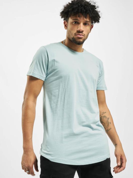 Urban Classics T-Shirt Shaped Long blue