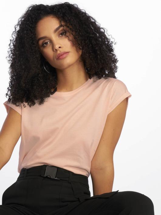 Urban Classics T-Shirt Extended Shoulder rose