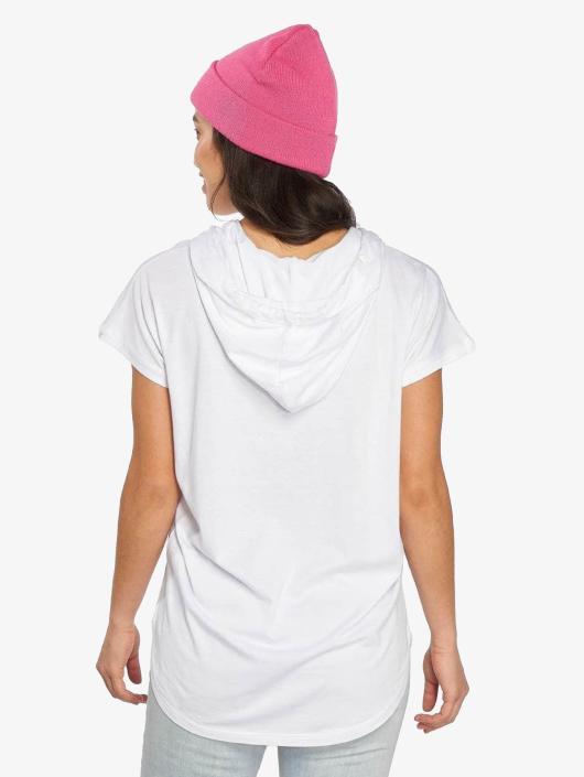 Urban Classics T-Shirt Jersey Hooded white