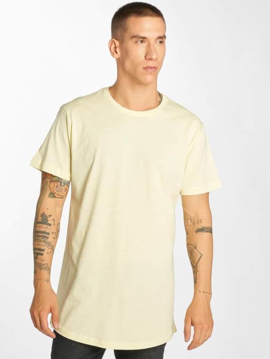 Urban Classics T-Shirt Shaped Long yellow